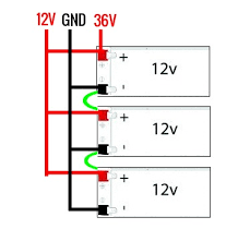 batteries wiring parallel and series simultaneously electrical Series vs Parallel Battery Wiring Diagrams enter image description here
