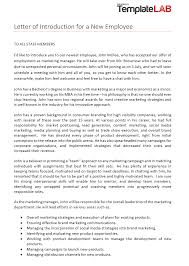 Free Download Letter 40 Letter Of Introduction Templates Examples