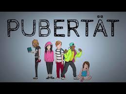 Körper pubertät