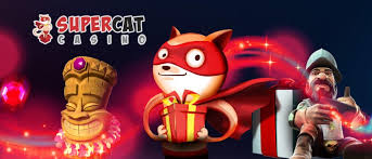 SuperCat Casino No Deposit Bonus €5 or 60 Free Spins