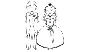 Free Printable Wedding Dress Coloring Pages Barbie Royal Colouring