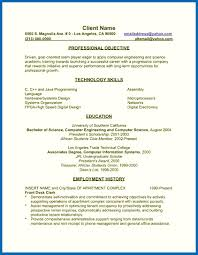 Resume In English Examples Non Technical Skills Resume English Major Resume Resume English 51