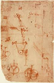 da vinci by thomas  sketch from leonardo da vinci s codex atlanticus