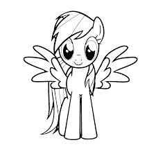 My Little Pony Kleurplaten Kleurplatenpaginanl Boordevol Coole