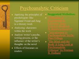 introduction to modern literary theory ppt video online psychoanalytic criticism