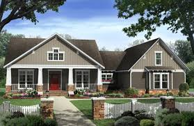 craftsman style house plans. First-Class 7 Craftsman Style House Plans 1 Story Bungalow. « U