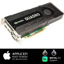 apple mac pro nvidia quadro k5000 4gb