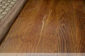 repairing a scratch in hardwood floors 1