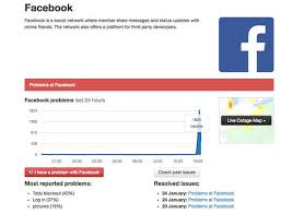 Image result for Facebook down: Users report issues loading social network