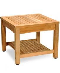 teak outdoor side table furniture macy39s