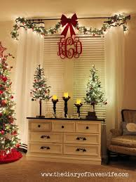 Curtain Rod Christmas Decor. Christmas Lights In BedroomChristmas Bedroom  DecorationsLiving ...