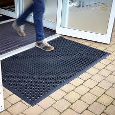 outdoor rubber tiles uk. large outdoor rubber entrance mats anti slip drainage door mat flooring - 3 sizes available (0.9m x1.5m) by bigdug: amazon.co.uk: kitchen \u0026 home tiles uk p