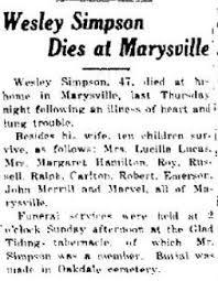John Wesley Simpson (1882-1929) - Find A Grave Memorial