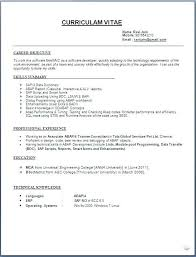 Formatting For Resume Inspiration Resumes Formats Goalgoodwinmetalsco