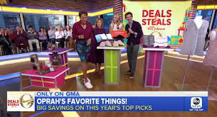 good morning america s deals and steals announcement on oprah s favorite things featuring our gemma plush slippers