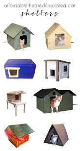 best affordable heated outdoor cat shelters how to keep and stray cats safe house for winter