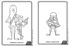 Small Picture A free printable Star Wars coloring book