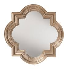 The Gatsby Wall Mirror With Platinum Gold Frame - Free Shipping Today -  Overstock.com - 17343386