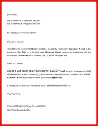 Job Letter Template From Employer Confirmation Of Employment Letter Template Barca Fontanacountryinn Com