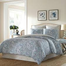 ralph lauren paisley bedding blue