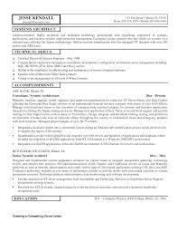 Cover Letter Enterprise Data Architect Resume Enterprise Data