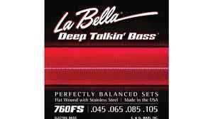 La Bella String Tension Chart Flat World A Roundup Of Flatwound Strings Bassplayer Com