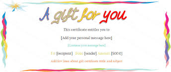 Gift Certificate Maker Free Classy Gift Voucher Templates Printable Gift Voucher Designs