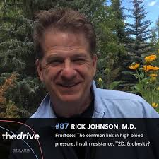 87 - Rick Johnson, M.D.: Fructose—The common link in high blood pressure,  insulin resistance, T2D, & obesity? - Peter Attia