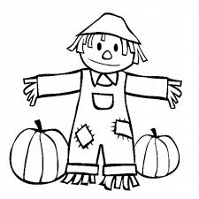 15 printable scarecrow coloring pages print color craft with throughout the most beautiful printable scarecrow coloring page