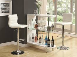 bar units and bar tables contemporary white