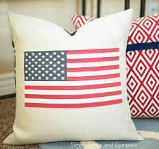 flag pillow diy