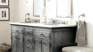 rustic white bathroom vanities. Simple Rustic Distressed White Bathroom Cabinets Vanity Lights Attractive  Vanities In 8   For Rustic White Bathroom Vanities