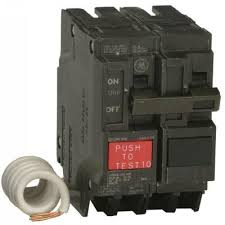 ge q line 20 amp 2 1 4 in double pole gfci circuit breaker ge q line 20 amp 2 1 4 in double pole gfci circuit breaker thql2120gfp the home depot