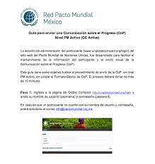 Formato Basico Pacto Mundial