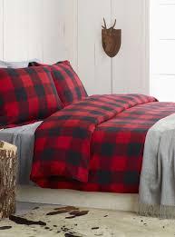 ugg tara plaid flannel reversible king comforter set in grey snow ideas 6