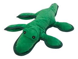 dels about tough dog toy squeaky alligator petface plush puppy game play durable nylon 19