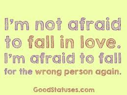 Scared To Fall In Love Quotes Gorgeous Falling In Love Quotes And Fall In Love Quotes I'm Not Afraid To