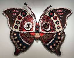 recycled metal wall art on metal insect wall art with recycled metal wall art michelle stitzlein s moth collection