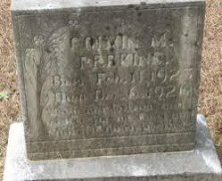 PERKINS, COLVIN M - Union County, Arkansas | COLVIN M PERKINS - Arkansas  Gravestone Photos