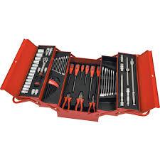 kennedy cantilever tool box. 62 piece workshop tool kit cantilever tool box set 62-pce kennedy cantilever box o