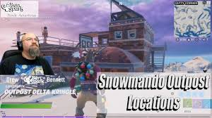 Visit different snowmando outposts in the new operation snowdown challenges to earn rewards. Visit Different Snowmando Outposts All Location Fortnite Operation Snowdown Fortnite Visiting Outpost