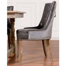 nailhead chairs modern dining room chairs with trim in leather distressed leather dining room chairs leather