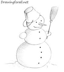easy kids drawing lessons how to draw a snowman step by step view all drawn snowman beginner