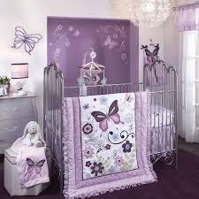 baby girl butterfly bedroom ideas. bedroom , cozy purple theme girl nursery ideas : lambs and ivy butterfly lane five piece baby pinterest