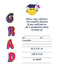 Free Template For Graduation Invitation 40 Free Graduation Invitation Templates Template Lab