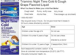 Dimetapp Cold And Allergy Dosage Chart By Weight Children Triaminic Dosage Chart Best Picture Of Chart