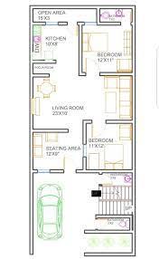 25x50 house plan housewala 20x30