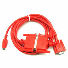 SC-09 <b>Mitsubishi PLC</b> Programming Cable <b>RS232</b> To <b>RS422</b> for ...