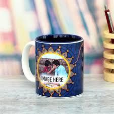 blue best brother mug