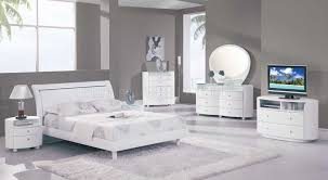 Glossy White Bedroom Furniture